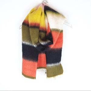 Madewell | color block blanket scarf
